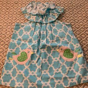 Mud pie toddler chick dress